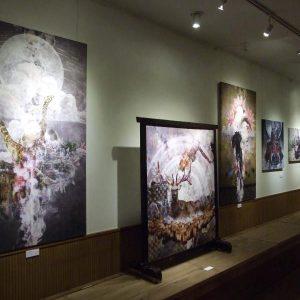 2013.02 個展「不揃いの接続」
