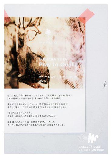 池原 悠太 個展「クオリアに祈る」
